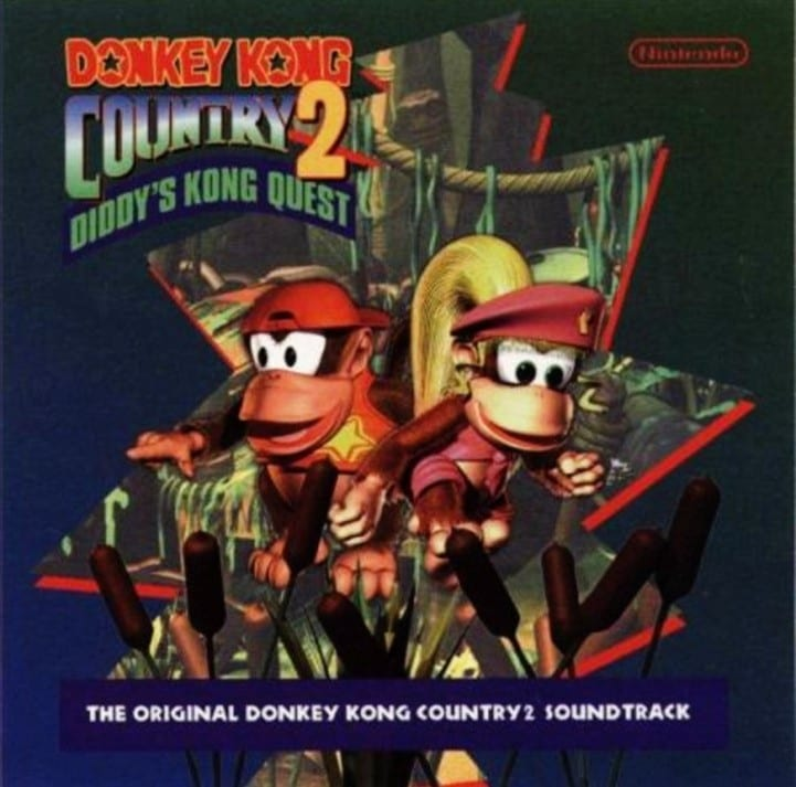 DK Jamz - The Original Donkey Kong Country Soundtrack (1995) CD 10